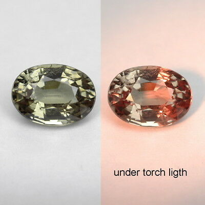 1.21 Ct. Majestic Luster Color Change Garnet WITH GLC CERTIFY