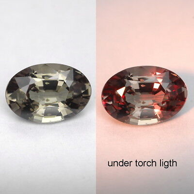1.22 Ct. Majestic Luster Color Change Garnet WITH GLC CERTIFY