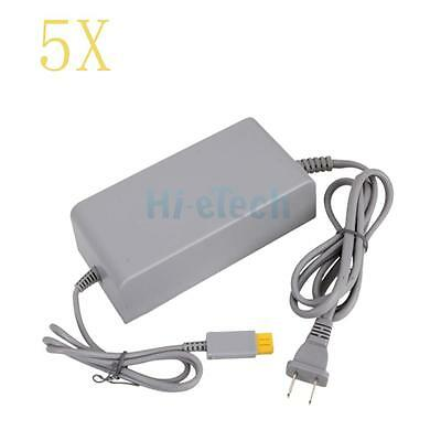 5X AC Home Wall Power Supply Adapter Cord Cable for Wii U Console System US Plug