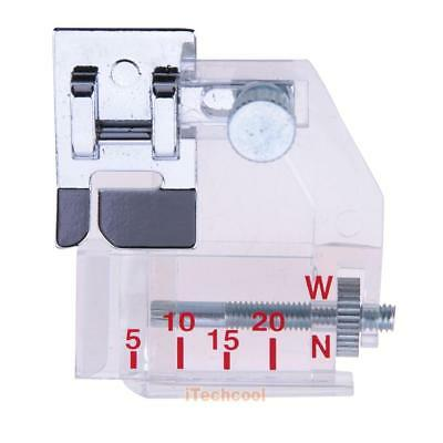Adjustable Bias Binder Presser Foot Binding Feet Sewing Machine Attachment #T1K
