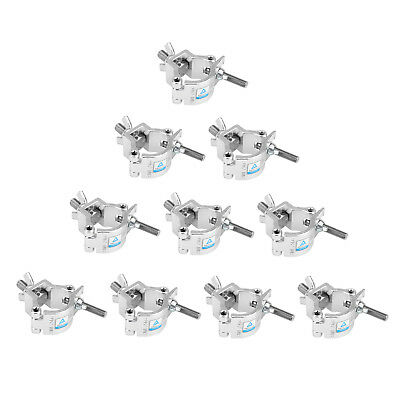 8 Pack LOAD 165 LBs O Clamp Hook Mount For DJ Party Stage Lights Pipe 32-35mm