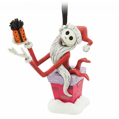 JACK SKELLINGTON~BOXED~Ornament~NIGHTMARE BEFORE CHRISTMAS~NWT~Disney Store~2017