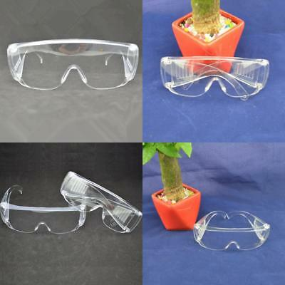 New Clear Lens Eye Protection Safety Glasses Specs Work Spectacles