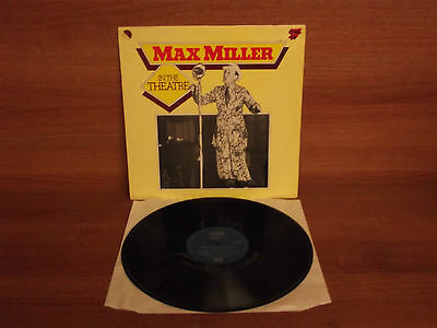 Max Miller : In The Theatre : Vinyl Album : One Up Records : OU 2075 : Stereo