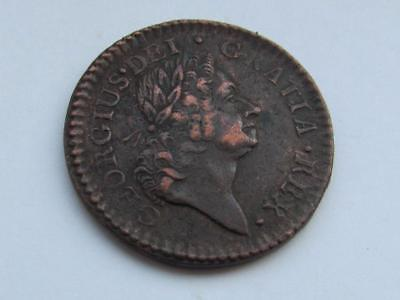 Ireland, George I  Farthing 1723 William Wood's coinage - good collectable coin
