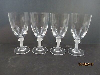 Mikasa Parthenon Water Goblets - Frosted Stems