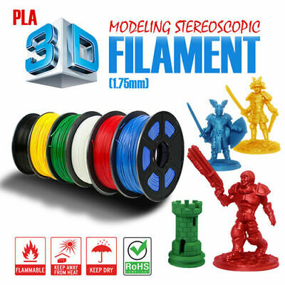 3D Printer Printing Filament ABS PLA NYLON 1.75mm 1KG Spool Aussie Stock Hot