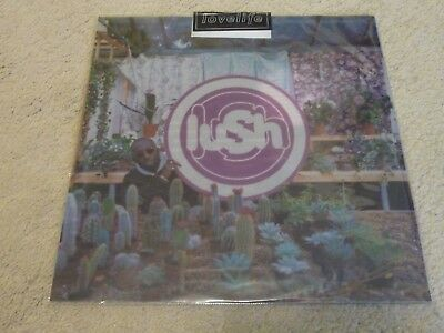 LUSH - Lovelife - Very Rare UK Limited Edition Clear Viny LP - CAD6004 - EX/VG
