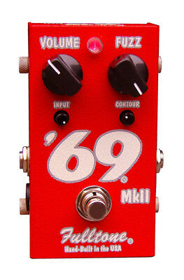 Fulltone 69 Mark 2 Fuzz Effects Pedal (NEW)