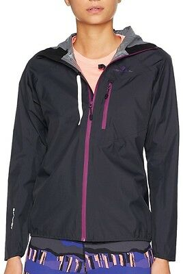 Ronhill Stride Rainfall Ladies Running Jacket - Black
