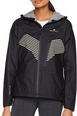 Ronhill Infinity Nightfall Ladies Running Jacket - Black