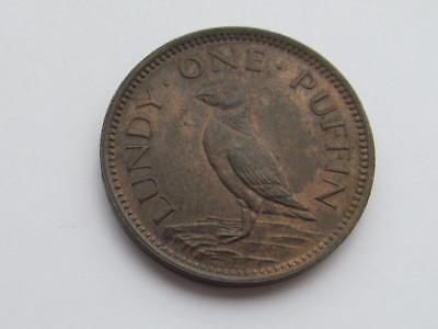 Lundy Island - 1929 Martin Harman Puffin - Great collectable coin