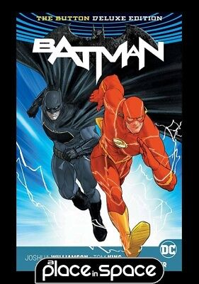 Batman Flash The Button Deluxe Edition International Edition - Hardcover