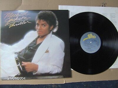 Michael Jackson Thriller LP G/F Very Good all round