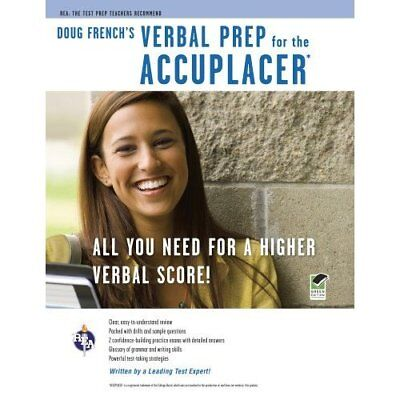 Doug French's Verbal Prep for the Accuplacer (REA Test  - Paperback NEW French,