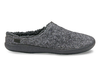 TOMS Mens Berkeley Grey Slub Slippers Slip On Size UK 7 8 EU 40.5 42