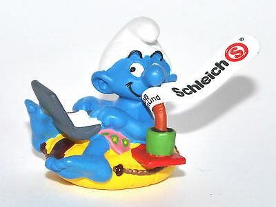 20522 Workaholic Schlumpf - Neu! - workaholic smurf -perfect!