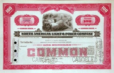 North American Light & Power Company - 1935