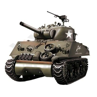 Heng Long 1:16 RC Panzer Sherman M4A3 105mm Howitzer 6mm BB # 1112438981