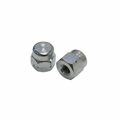 """Tacx Turbo Trainer Axle Nuts For Non-Q/R Wheels 3/8"""" (Pair) T1416"""