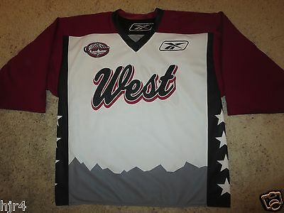 NLL National Lacrosse League 2009 All Star Game Colorado Reebok Jersey LG L