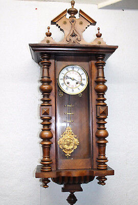 ** Antique Regulator Clock German 19th century Clock **