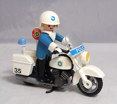 playmobil polizei motorrad eur 5 00 picclick de. Black Bedroom Furniture Sets. Home Design Ideas