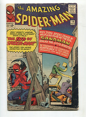1964 Marvel The Amazing Spider-Man #18 1St Appearance Ned Leeds Very Good-