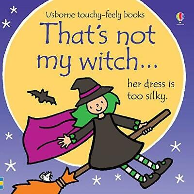 That's Not My... Witch... by Fiona Watt - Usborne Touchy-Feely