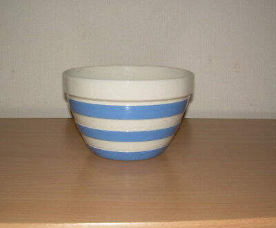 Cornish ware Vintage pudding bowl. Excellent T.G. Green 6 x 4 inch.