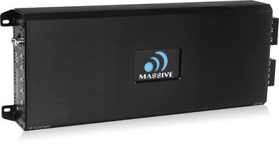 Massive Audio E4 Edge Series 4000 Watt RMS Monoblock Amp Subwoofer Amplifier NEW