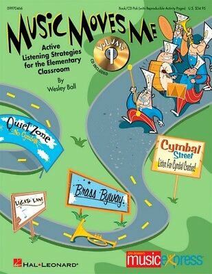 Hal Leonard Music Moves Me Active Listening Strategies for the Classroom Book/CD