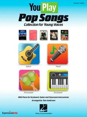 Hal Leonard YouPlay Pop Songs Collection Young Voices Perform/ Accompaniment CD