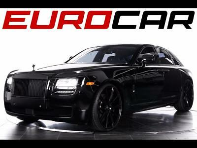 2011 Rolls-Royce Ghost Base Sedan 4-Door 2011 Rolls-Royce Ghost - Rear Seat Entertainment, Blacked Out Exterior Accents