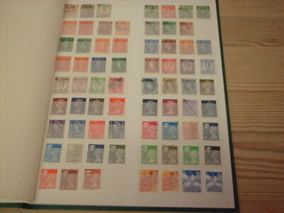 Gb Stamp Album With 400 + Stamps, Ideal Christmas Present Or Unique Gift