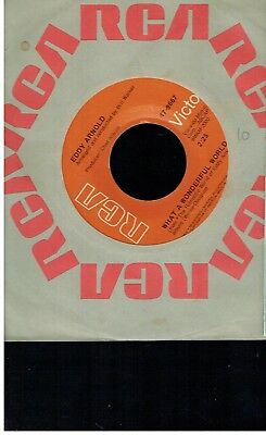 Eddy Arnold What A Wonderful World/they Dont Make Love Like They Used To 45