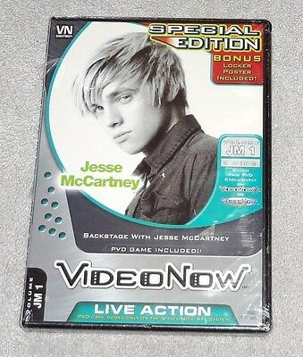 Video Now Disc Jesse McCartney Backstage with Special Edition Color XP JM1