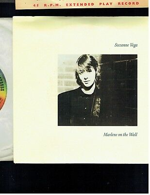 Suzanne Vega Marlene On The Wall Ps 45 1985