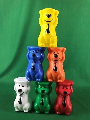 Hanna-Barbera Yogi Bear Plastic Stacking Game