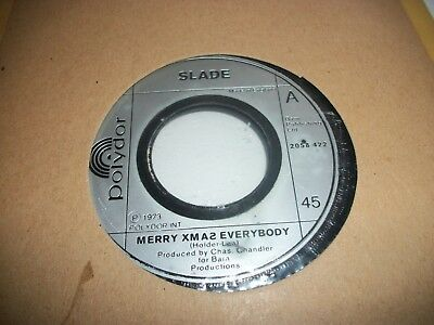 "SLADE- MERRY XMAS EVERYBODY- JUKEBOX VINYL 7"" 45RPM p"