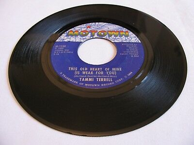 Tammi Terrell - This Old Heart Of Mine (Is Weak For You) / Just Too... - Motown