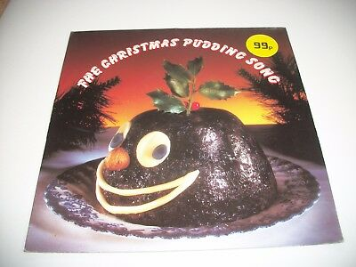 "The Christmas Pudding Song - Vinyl 7"" 45Rpm Ps"