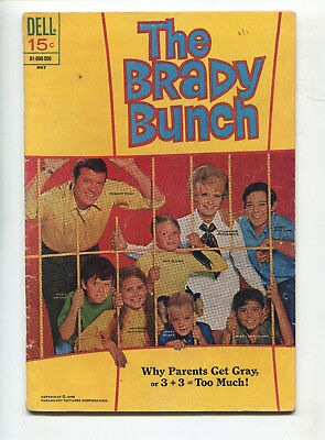 1970 Dell The Brady Bunch #2 Photo Cover Very Good+