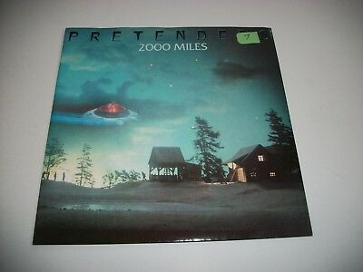 "The Pretenders- 2000 Miles Vinyl 7"" 45Rpm Ps"