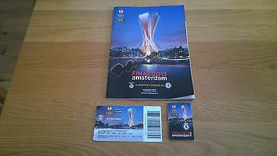 2013 Europa Cup Final + Match Ticket Chelsea v Benfica
