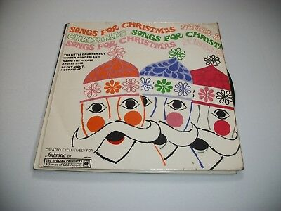 "Songs For Christmas- Ambrosia Ep Vinyl 7"" 45Rpm Ps"