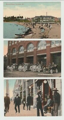 5 Early Valentine Canada Postcards: Vancouver