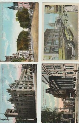 6 Early  Canada Postcards: Montreal