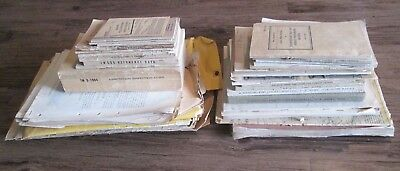WWII Lot Military Manuals, Personal Papers, Maps, etc. *1940's