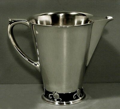 Frank Smith Sterling Pitcher         c1920    * WOODLILY PATTERN *    23 OZ.